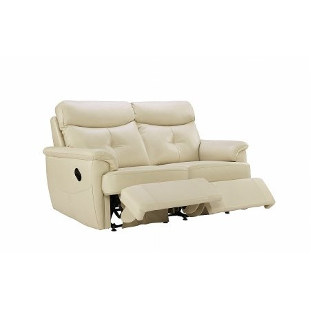 G Plan Upholstery - Atlanta 2 Seater Leather Recliner Sofa