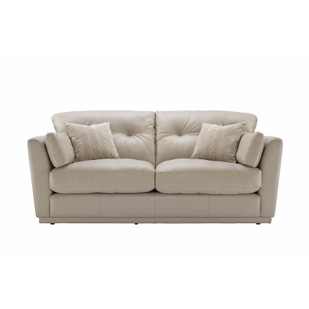 G Plan Upholstery - Linear 3 Seater Leather Sofa