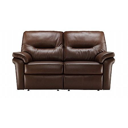 G Plan Upholstery - Washington Leather Sofa