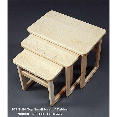 Anbercraft - Maple Nest of Tables