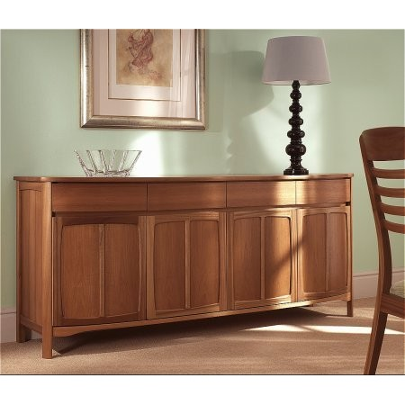 Nathan - Shades Shaped 4 Door Sideboard