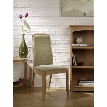 Nathan - Shades Oak Upholstered Dining Chair