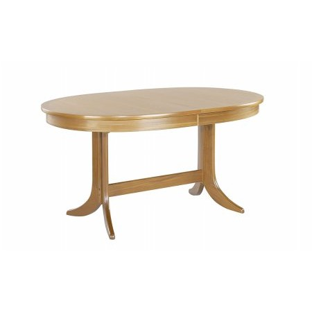Nathan - Classic Large Oval Pedestal Dining Table