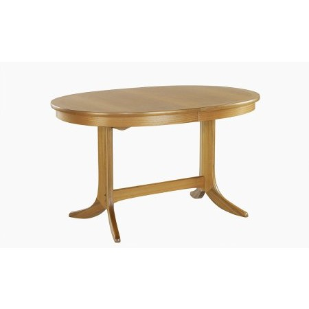 Nathan - Classic Oval Pedestal Dining Table
