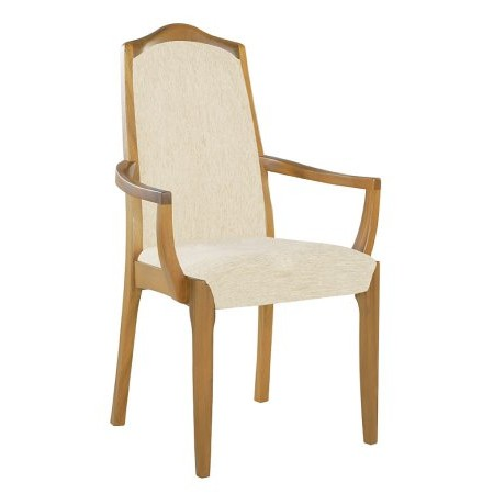 Nathan - Classic Fully Upholstered Dining Carver