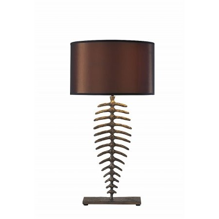 Dar Lighting - Angler Table Lamp complete with S016 Shade
