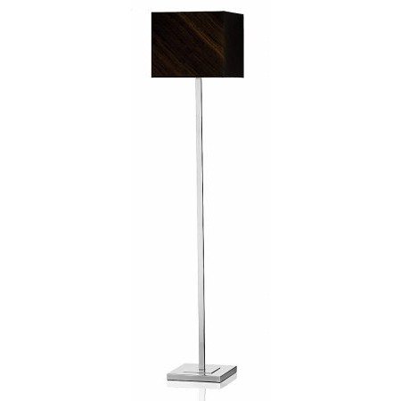 Dar Lighting - Anvil Floor Lamp Polished Chrome Base Only