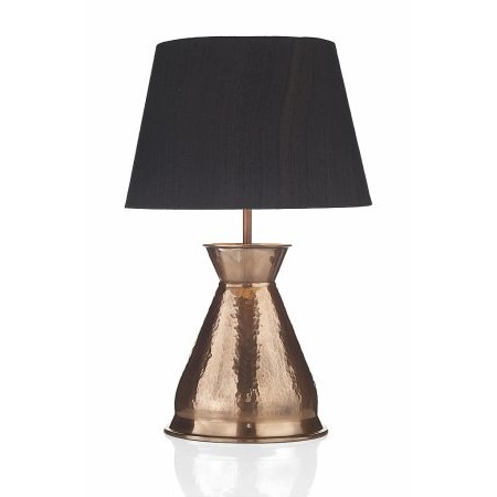 Dar Lighting - Buccaneer Table Lamp Copper Base Only