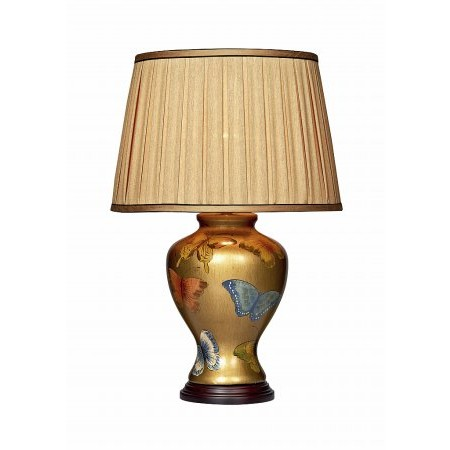 Dar Lighting - Joy Butterfly Table Lamp Gold Base Only