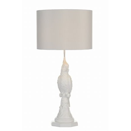 Dar Lighting - Pepe Table Lamp White Base Only