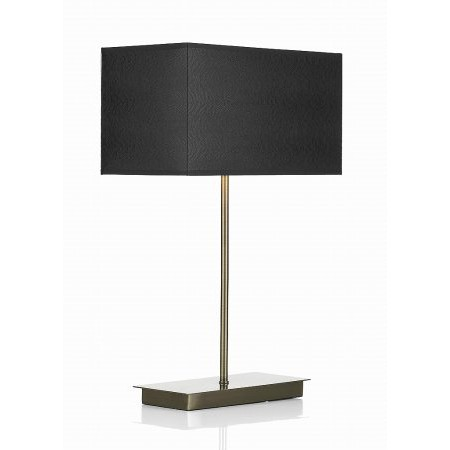 Dar Lighting - Piza Table Lamp Antique Brass Base Only