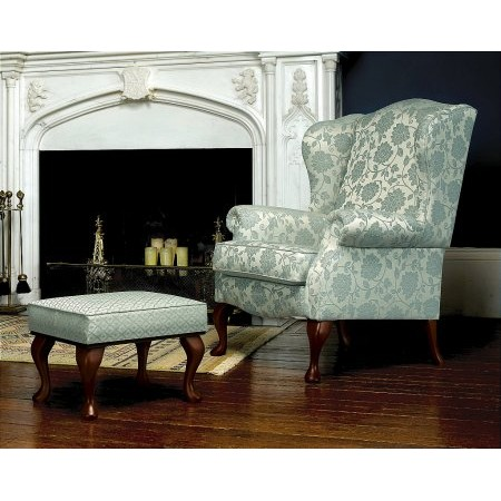 Sherborne - Kensington Wing Chair and Leg Rest Stool