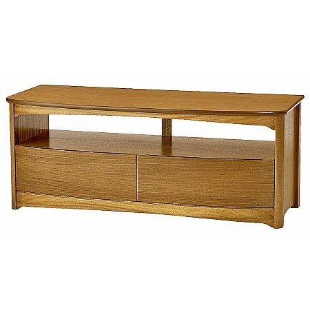 Nathan - Shades Range Shaped TV Unit with Drawers
