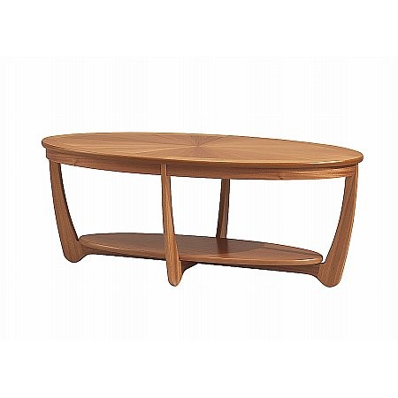 Nathan - Shades Oval Coffee Table