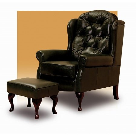 Celebrity - Woburn Leather Fireside Chair