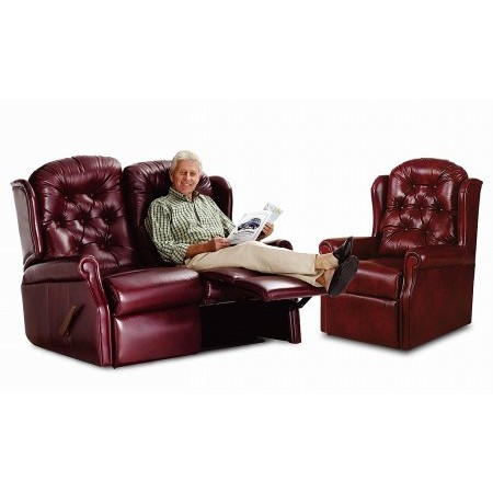 Celebrity - Woburn Leather Recliner Suite