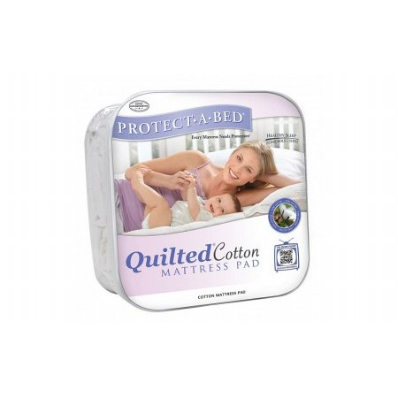 Protect A Bed - Quiltguard Cotton Luxurious soft quilted cotton Mattress Protector