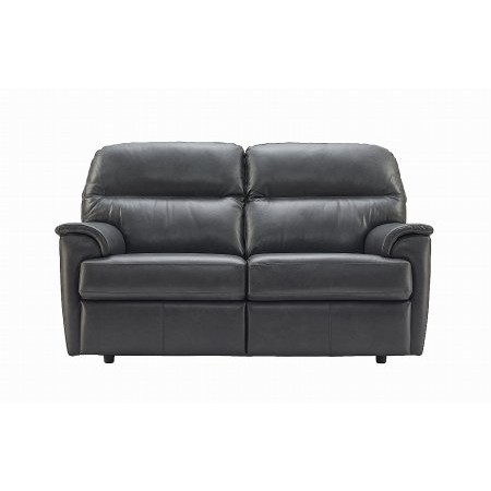 G Plan Upholstery - Watson 2 Seater Leather Sofa
