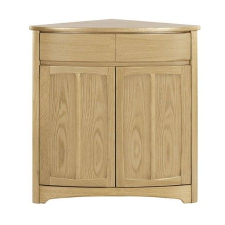 Nathan - Shades Oak Corner Base Unit
