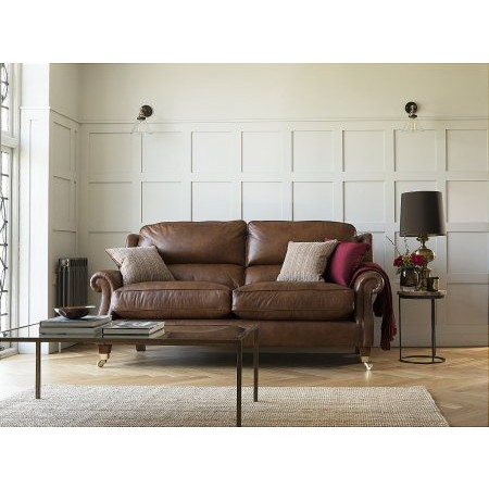 Parker Knoll - Henley Large 2 Seater Leather Sofa