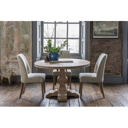 Willis And Gambier - Revival Collection Hampstead Round Table and Pinner Chair
