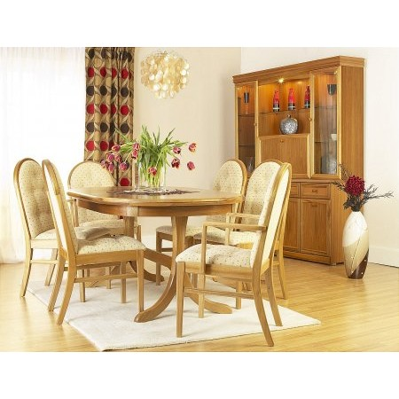 Sutcliffe - Trafalgar Goodwood Oval Dining Table