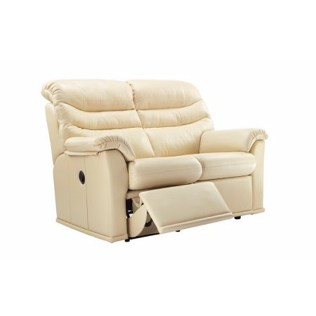 G Plan Upholstery - Malvern 2 Seater Leather Recliner Sofa