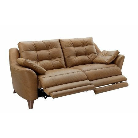 G Plan Upholstery - Pip 2 Seater Leather Recliner Sofa