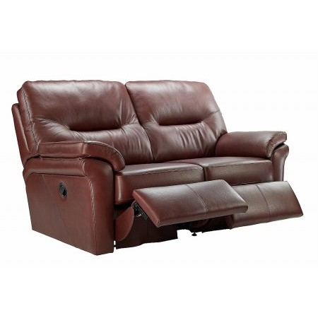 G Plan Upholstery - Washington 2 Seater Leather Recliner Sofa