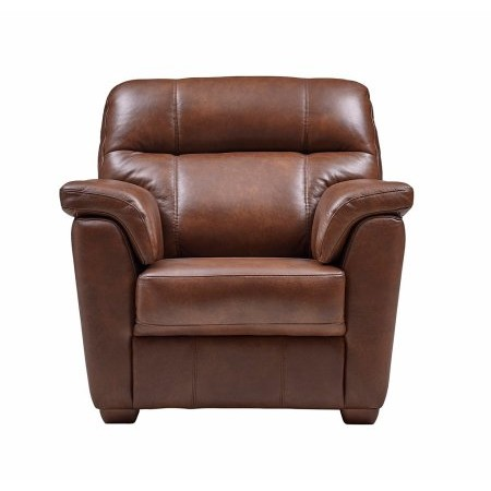 Ashwood - Aspen Leather Chair