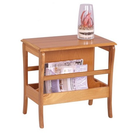 Sutcliffe - Trafalgar Table with Magazine Rack