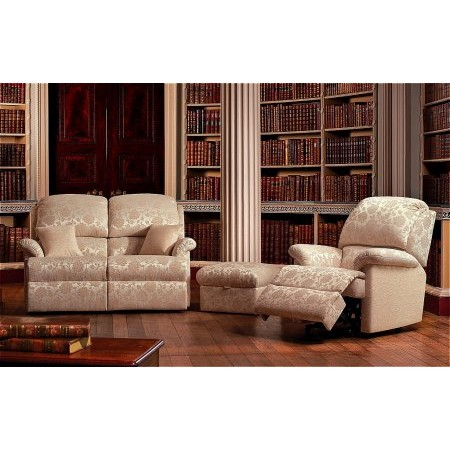 Sherborne - Lisbon 2 Seater Settee  plus Recliner Chair  plus Stool