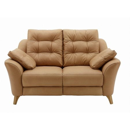 G Plan Upholstery - Pip 2 Seater Leather Sofa