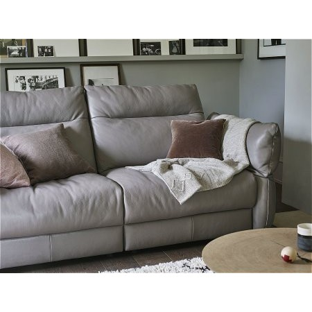 G Plan Upholstery - Tess 3 Seater Leather Sofa