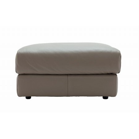 G Plan Upholstery - Tess Leather Footstool