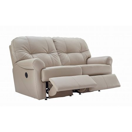 G Plan Upholstery - Winslet 2 Seater Leather Reclining Sofa