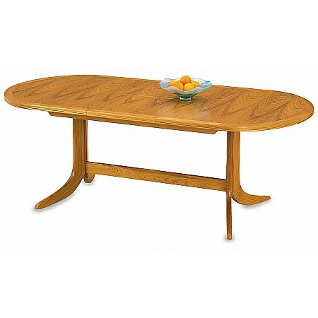 Nathan - Classic Large Pedestal Table