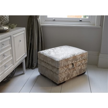 Parker Knoll - Lift Top Footstool