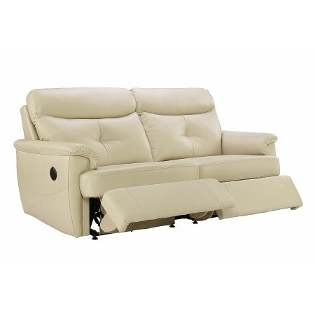 G Plan Upholstery - Atlanta 3 Seater Leather Recliner Sofa