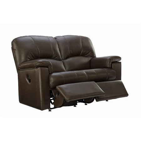 G Plan Upholstery - Chloe 2 Seater Leather Recliner Sofa