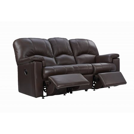 G Plan Upholstery - Chloe 3 Seater Leather Recliner Sofa