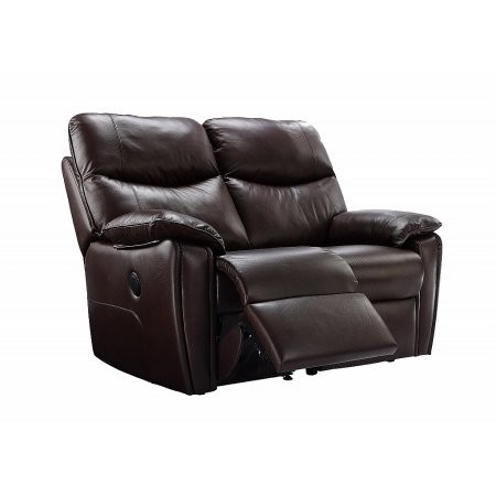 G Plan Upholstery - Henley 2 Seater Leather Recliner Sofa