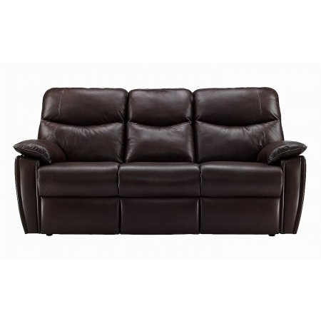 G Plan Upholstery - Henley 3 Seater Leather Recliner Sofa