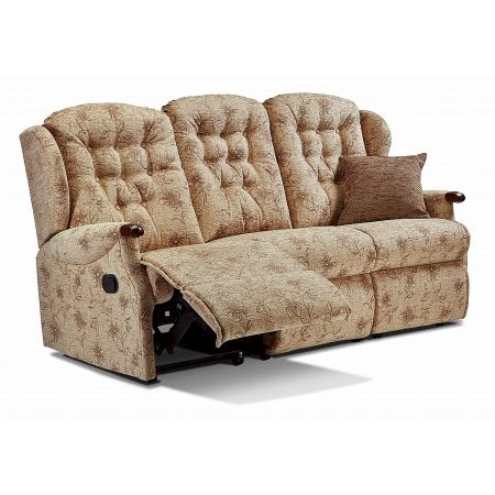 Sherborne - Lynton Knuckle 3 Seater Recliner Sofa