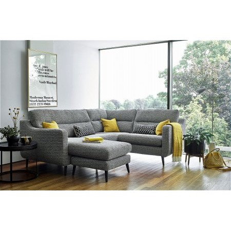 Ashley Manor - Camden Corner Sofa  plus Footstool
