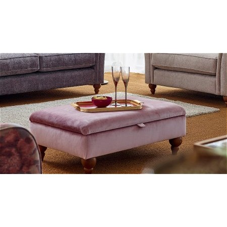 Westbridge Furniture - Classic Non Buttoned Footstool