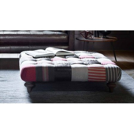 Westbridge Furniture - Boutique Buttoned Ottoman