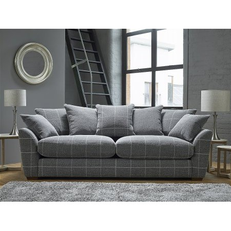 Ashwood - Oscar 3 Seater Pillow Back Sofa