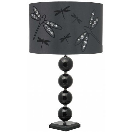 Aimbry - Canterbury 421 BLK Table Lamp
