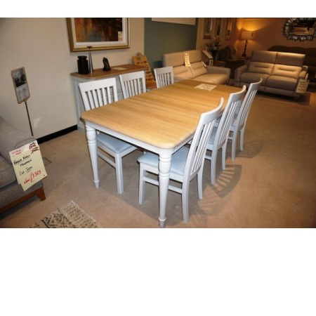 Stag Cromwell - Table and 6 chairs
